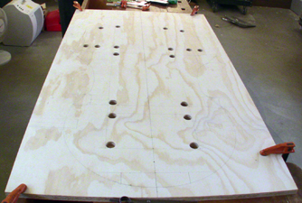 Bass mould begins