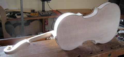 baritone ready to varnish